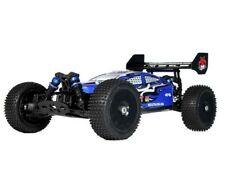 1:8 Backdraft 8E RC Buggy UltraLite 4WD Brushless Electric Motor 2.4GHz Blue New