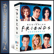 FRIENDS -  COMPLETE SERIES SEASONS 1 2 & 3  **BRAND NEW BOXSET*