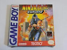 Ninja Gaiden Shadow Nintendo Game Boy Complete In Box CIB Game Manual