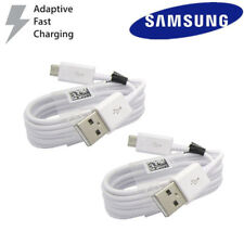 Fast Charging Cable For Samsung Galaxy S6 S7 Note 4 5 Dual USB Car&Wall Charger