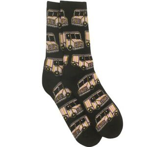 40s and Shorties Ice Cream Truck Socks black