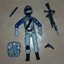 ARAH GI Joe Sky Patrol Steel Brigade Trooper Black Major 3 3/4 RARE