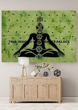 Tapestry India Wall Decor Chakra Meditation Hanging Decorate Tapestries Throw