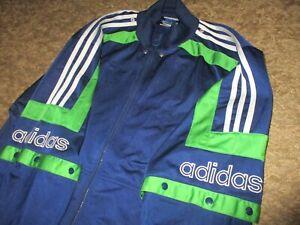 ADIDAS tracksuit oldschool vintage sweatshirt trainingsjacke retro 80 90 jordan