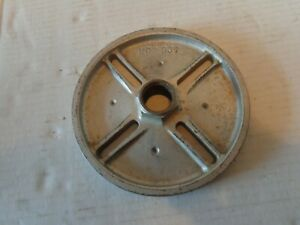 """Delta Rockwell Wood Lathe 6"""" Face Plate 1"""" x 8tpi  Left or Right Hand Threads"""