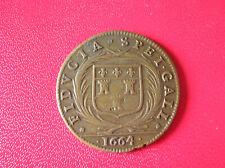 FRANCE JETON  FIDUCIA SPEI GALL 1664 (TOUR ??) (a481)