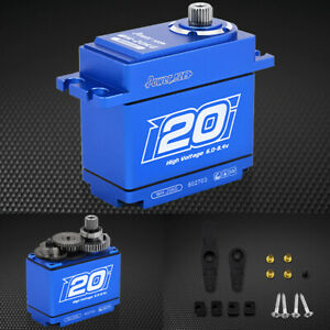 POWER HD WH-20KG Waterproof 277.7 oz / .08 Titanium Gear Digital Servo