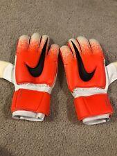 Nike GK Spyne Pro Elite Goal Keeper Soccer Football Gloves Size 9 Orange