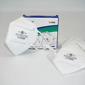 6er Apotheken-Set - Diogen® FFP2 Maske, CE 0598 SGS Finnland - einzeln verpackt