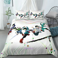 Anime Single/Double/King/Queen Bed Doona/Quilt/Duvet Cover Set My Hero Academia