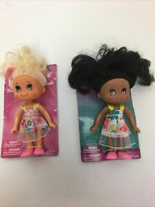 "2 New Fashion Dolls 5"" B-3"