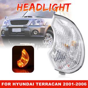 Right Car Front Fog Light Headlight Headlamp Cover For Hyundai Terracan 2001-06