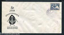 FDC E8 - E 8, Staatsmijnen, blanco