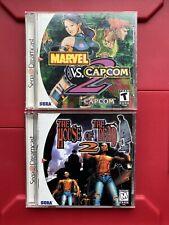 Marvel vs. Capcom 2 & The House of the Dead 2 (CIB / Complete / Sega Dreamcast)
