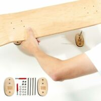 Boards on the wall - Skateboard Deck Wall Mount Display Hanger - Horizontal - V1