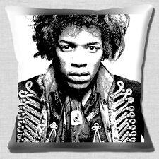 "Jimi Hendrix 16""x16"" 40cm Cushion Cover Vintage Retro Musician Artist Drawing"