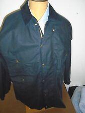 Filson Shelter Cloth Packer Coat Jacket  NWT Medium Extra Long $345 Navy Blue