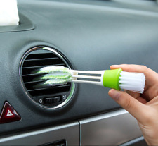 Car Air Outlet Vent Dashboard Dust Cleaner Cleaning Brush Double Head Microfiber