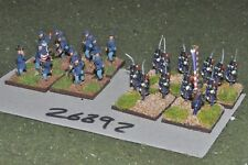15mm ACW / union - regt. 24 figures - inf (26892)