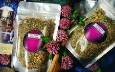 Yoni (Feminine) Herbal Steam Bath (13 Herb Blend and Full Color Custom Instructi