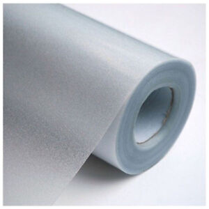 1 Roll Frosted Frost Privacy Home Bedroom Bathroom Glass Window Film Sticker P