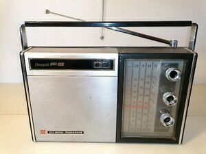 National Panasonic RF 949 LB FM AM 4 band transistor radio vintage Parts repair