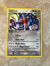 Pokemon 2005 Exploud National Championships Stamped Promo Card 3/106 - NM/MT