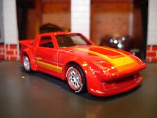 MAZDA RX-7 CUSTOM EDITION SPORTS CAR 1/64 HW CUSTOM WHEELS AND TIRES ADDED JDM