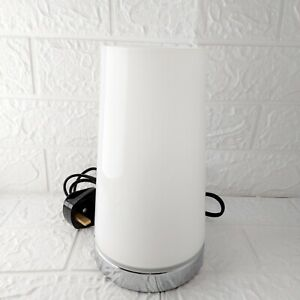 White Bedside Touch Lamp 22cm Fast Dispatch