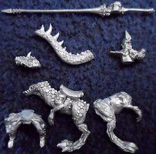 1995 Dark Elf 0530/4 fría Caballero 2 ciudadela caballería Warhammer army Drow Elfos