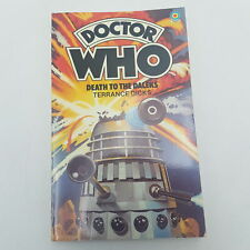 Doctor Who DEATH TO THE DALEKS Target Book 3rd Edition 1980 NM Unread
