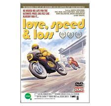 LOVE, SPEED & LOSS DVD - Kim Newcombe Classic Motorcycle Racing GP - Duke  New