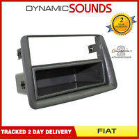 CT24FT06 Car Stereo Radio CD Fascia Panel Grey For Fiat Panda 2003-2012
