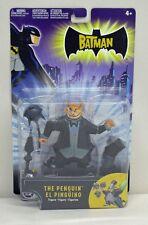 The Batman Animated The Penguin Mattel NIP 4+ 5 inch 2004 S202-2