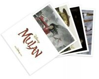 New Disney Mulan Live Action Lithograph Set of 4