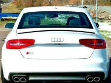 Audi A4 S4 B8 2007-2015 Sport S line Boot Spoiler Lip UK Seller Unpainted