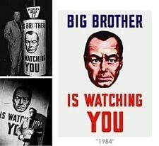 George Orwell 1984 Dvd New World Order Nwo Illuminati Rfid Classic Sci Fi