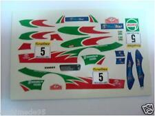 TOYOTA COROLLA WRC WINNER MONTE CARLO 1998 1/43 DECALS