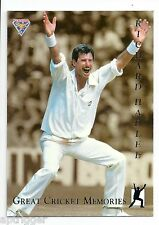 1994 Futera Great Cricket Memories (GCM5) Richard HADLEE # 0088