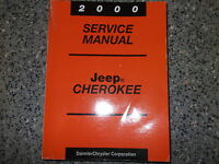 2000 JEEP CHEROKEE Service Repair Shop Manual BRAND NEW FACTORY OEM  BOOK