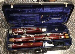 Schreiber bassoon high D key plus HECKEL BOCAL