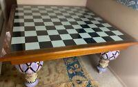Mackenzie Childs Train Table - The Signature Mackenzie Childs Table - 5' x 5'