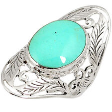 Turquoise Handmade Stone Costume Rings