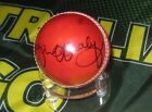 Ian Healy (Australian Legend) signed Red Cricket Ball + COA & Photo Proof