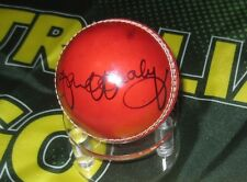 Ian Healy (Australian Legend) signed Red Cricket Ball + COA & Photo Proof