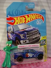 '15 FORD F-150 truck #81✰blue;K&N✰HW SPEED GRAPHICS✰2018 Hot Wheels USA CASE D/E