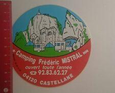 Aufkleber/Sticker: Camping Frédéric Mistral Castellane (29121679)