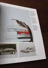 1986 Les sept années de la 7' BMW développement