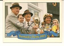 Jerry Bailey Signed Autographed 1994 Horse Star Cards Kentucky Derby 1993 119G