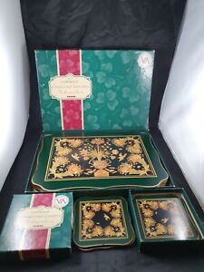 CLOVERLEAF V&A Museum Collection 6 PARADISE Placemats & 5 Coasters